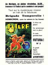 Verso de Futura (1e Série - LUG) -1- Jaleb le Télépathe