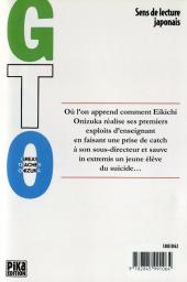 Verso de GTO -2- Volume 2
