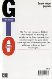 Verso de GTO -4- Volume 4