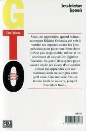 Verso de GTO -10- Volume 10