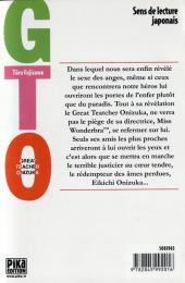 Verso de GTO -21- Volume 21