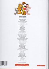 Verso de Garfield -35Ind2009- Demandez le programme