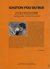 Verso de Gaston (Hors-série) -FB25- Fou du bus - STAS