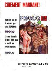 Verso de Les grands classiques de l'épouvante -2- Prophétie pour un massacre