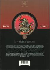 Verso de Les guerriers -1- La forteresse de Cormandel