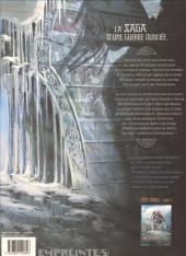 Verso de Hammerfall -2- Les ombres du Svartalaheim