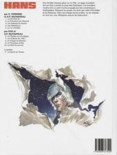 Verso de Hans (Duchâteau) -10- Le péril arc-en-ciel