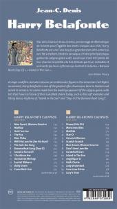 Verso de BD Voices -5- Harry Belafonte -