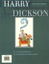 Verso de Harry Dickson (Nolane/Roman) -1a94- L'ile des possédés