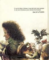 Verso de (AUT) Hausman -2- Les Fables de La Fontaine