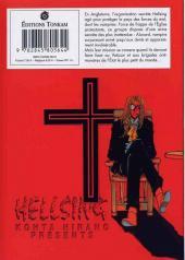Verso de Hellsing -1- Tome 1