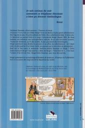 Verso de (AUT) Hergé -54- Hergé autrement