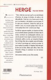 Verso de (AUT) Hergé -4- Hergé fils de Tintin