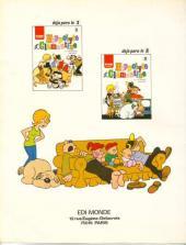 Verso de Hippolyte et Clémentine -3- Tome 3
