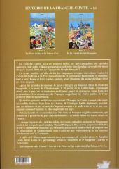 Verso de Histoire de la Franche-Comté -1- La Fleur de lys et la Toison d'or