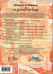 Verso de Histoire(s) de Mulhouse - Le grand héritage