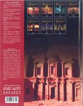 Verso de L'histoire secrète -2- Le château des djinns