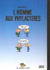 Verso de L'homme aux phylactères -3- Intégrale tome 2 : 1981-1986