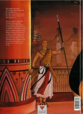 Verso de Sur les terres d'Horus -1- Khaemouaset ou la loi de Maât
