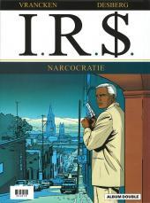 Verso de I.R.$ -INT FL- Blue ice / Narcocratie