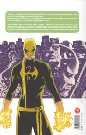 Verso de Iron Fist (100% Marvel - 2008) -1- L'Histoire du dernier Iron Fist