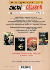 Verso de Jacky et Célestin - Tome INT