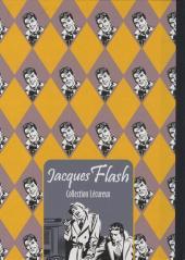 Verso de Jacques Flash (Taupinambour) -1- Contre l'homme invisible