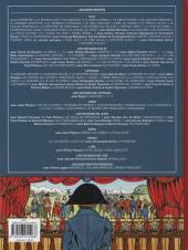 Verso de Jacques Martin présente -2- Le costume sous la révolution et l'empire
