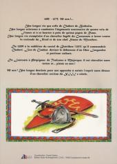 Verso de Jehan et Armor -3- Chabert de Barbaira