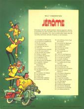 Verso de Jérôme -52- Les statues ardentes