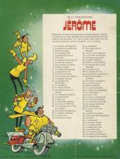 Verso de Jérôme -65- Le dragon à deux cornes