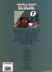 Verso de Jérôme K. Jérôme Bloche -11Ind- Le Cœur à droite
