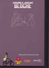 Verso de Jérôme K. Jérôme Bloche -17TL2- La marionnette