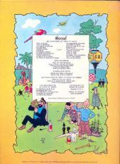 Verso de Jo, Zette et Jocko (Les Aventures de) -5B42b- La vallée des cobras