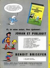Verso de Johan et Pirlouit -9b1965- La flûte à six schtroumpfs