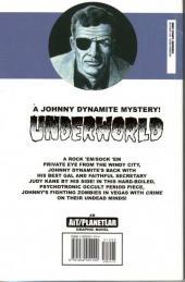 Verso de Johnny Dynamite - Underworld