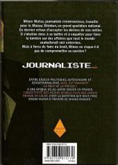 Verso de Journaliste -1- Tome 1