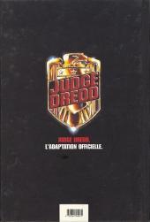 Verso de Judge Dredd (Kraken) - Judge Dredd