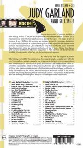 Verso de BD Ciné -10- Judy Garland