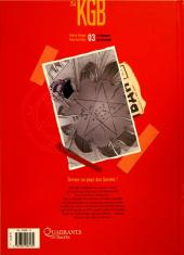 Verso de KGB -3- Le royaume de Belzébuth