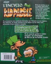 Verso de Kid Paddle - L'encyclo