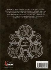 Verso de Kurokami Black God -2- Tome 2