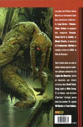 Verso de La légion des monstres - Tome 1