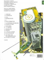 Verso de Largo Winch -16- La voie et la vertu