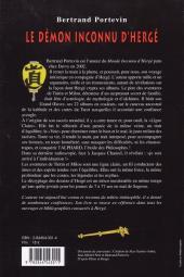 Verso de (AUT) Hergé -37- Le démon inconnu d'Hergé (ou le génie de Georges Remi)