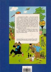 Verso de (AUT) Hergé -2b1990- Le monde d'Hergé