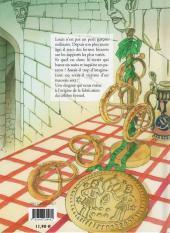 Verso de La légende du Bretzel - Tome Pub