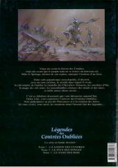 Verso de Légendes des contrées oubliées - L'encyclopédie du jeu de rôle