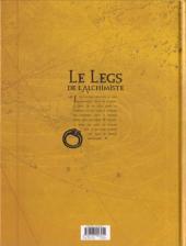 Verso de Le legs de l'alchimiste -5- Anna & Zaccharia