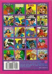 Verso de La ligue de justice (1re série - Arédit - Artima Color DC Super Star puis Artima Color DC) -Rec05- Album N°5 (n°9 et n°10)
